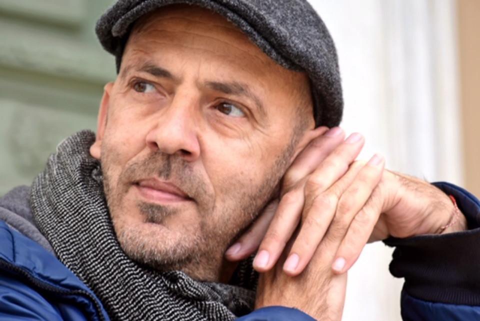 Ο καλλιτέχνης Γιώργος Σαλταφέρος.