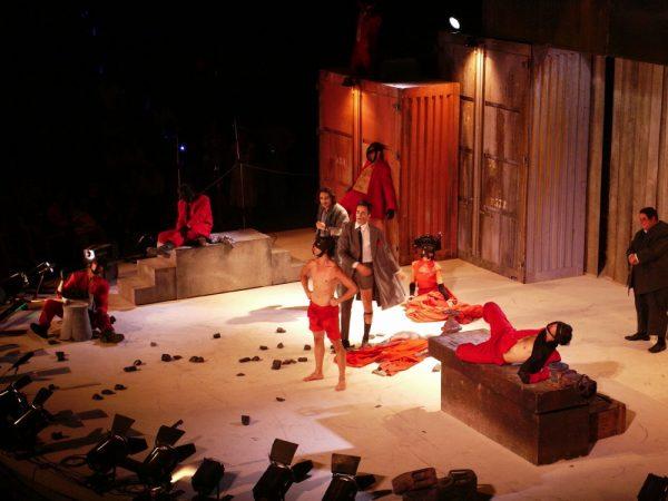 «Αχαρνής» του Αριστοφάνη - Γιάννης Κακλέας